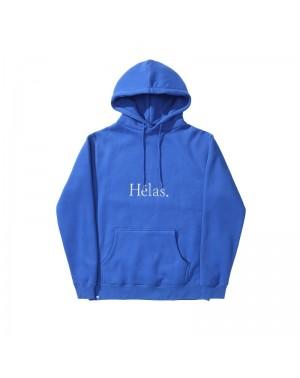 E21 HELAS CLASS HOODIE BLUE