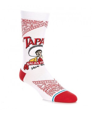 H20 STANCE SOCKS TAPATIO WHITE