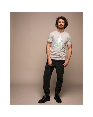 H19 OLOW BIERE TEE GRIS