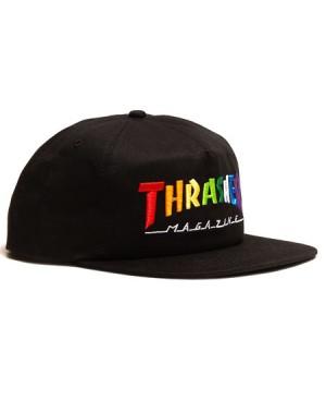 E21 THRASHER CAP RAINBOW...