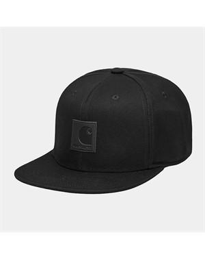 E21CARHARTT LOGO CAP BLACK