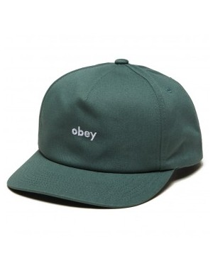 E21 OBEY LOWERCASE SNAPBACK...